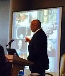 Dr. Adewale Troutman, Keynote Speaker Photo: Stephanye R. Clarke