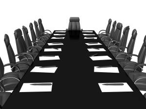 Business concept, Financial conference. 3d render