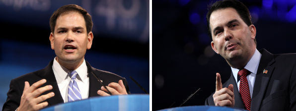Sen. Marco Rubio and Gov. Scott Walker outline their health care plans.