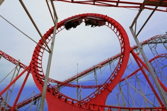 Amusement park ride..